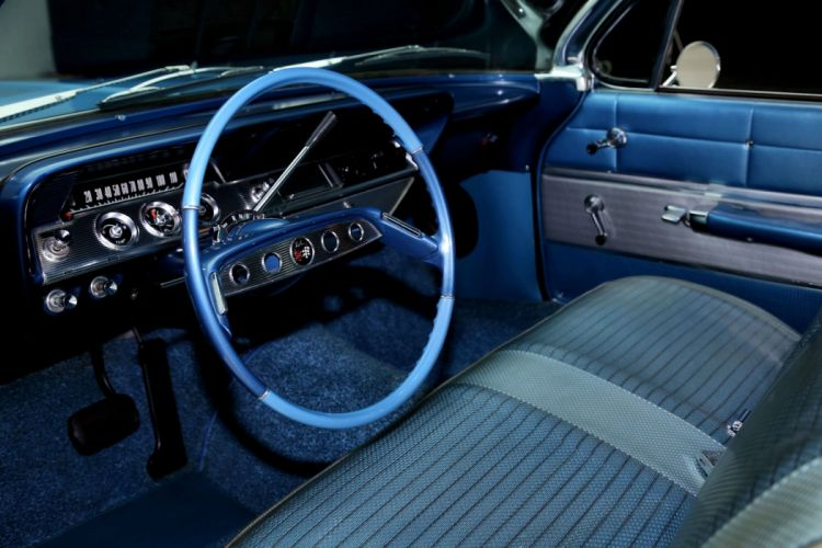 1961 CHEVROLET IMPALA BUBBLE TOP muscle classic wallpaper