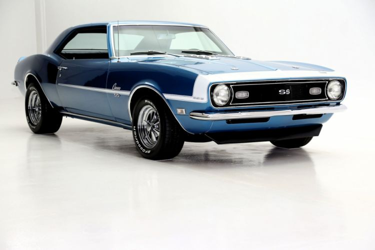 1968 CHEVROLET CAMARO S-S L78 396 muscle classic wallpaper