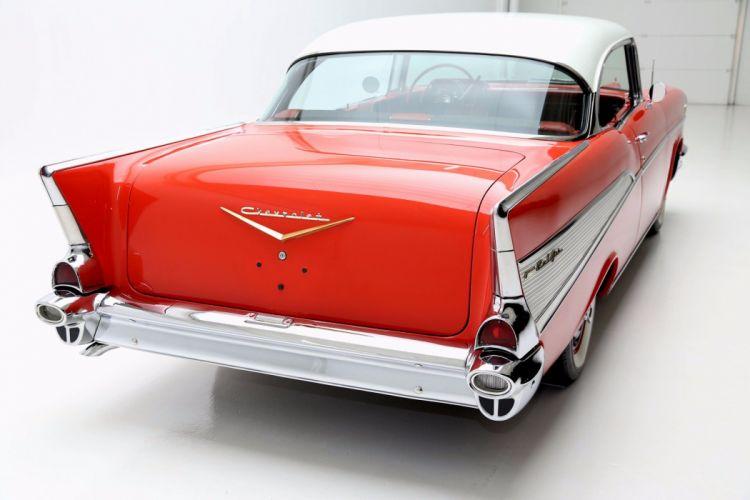 1957 CHEVROLET BEL AIR retro belair wallpaper