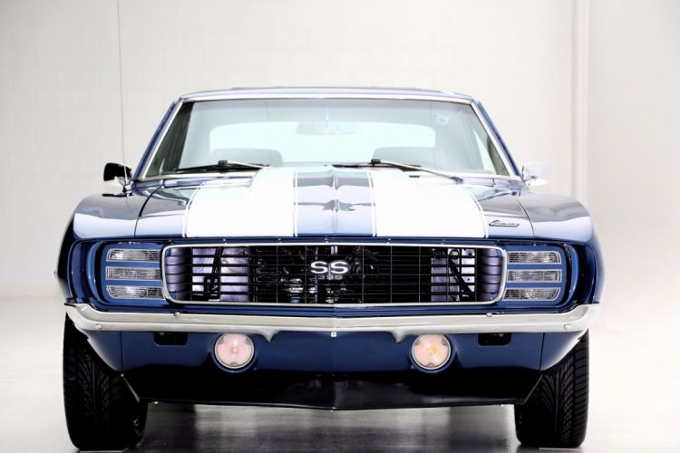 1969 CHEVROLET CAMARO R-S S-S muscle classic hot rod rods wallpaper