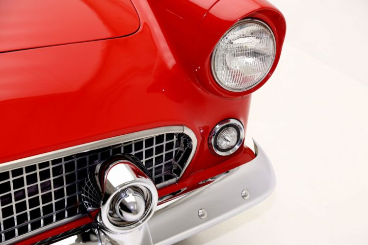 1955 FORD THUNDERBIRD CONVERTIBLE retro wallpaper