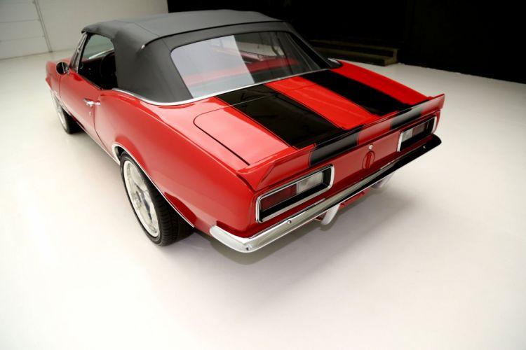 1967 CHEVROLET CAMARO CONVERTIBLE muscle custom hot rod rods classic wallpaper