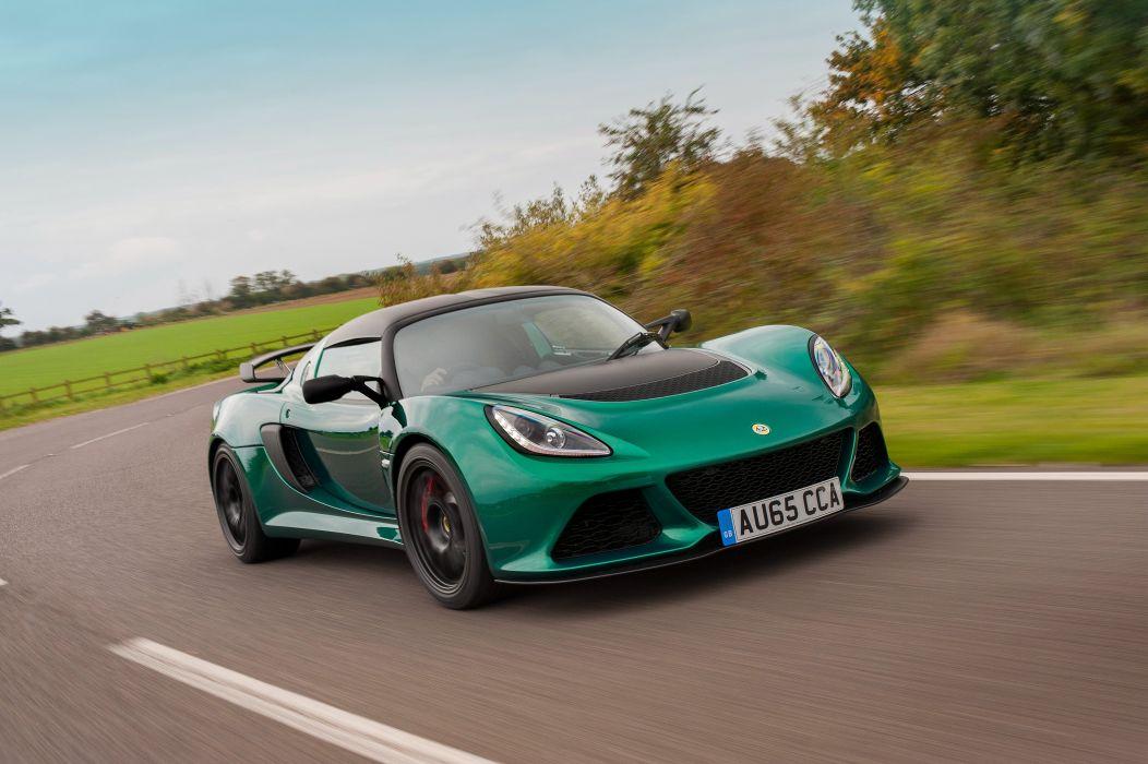 2016 Lotus Exige Sport 350 UK-spec supercar wallpaper