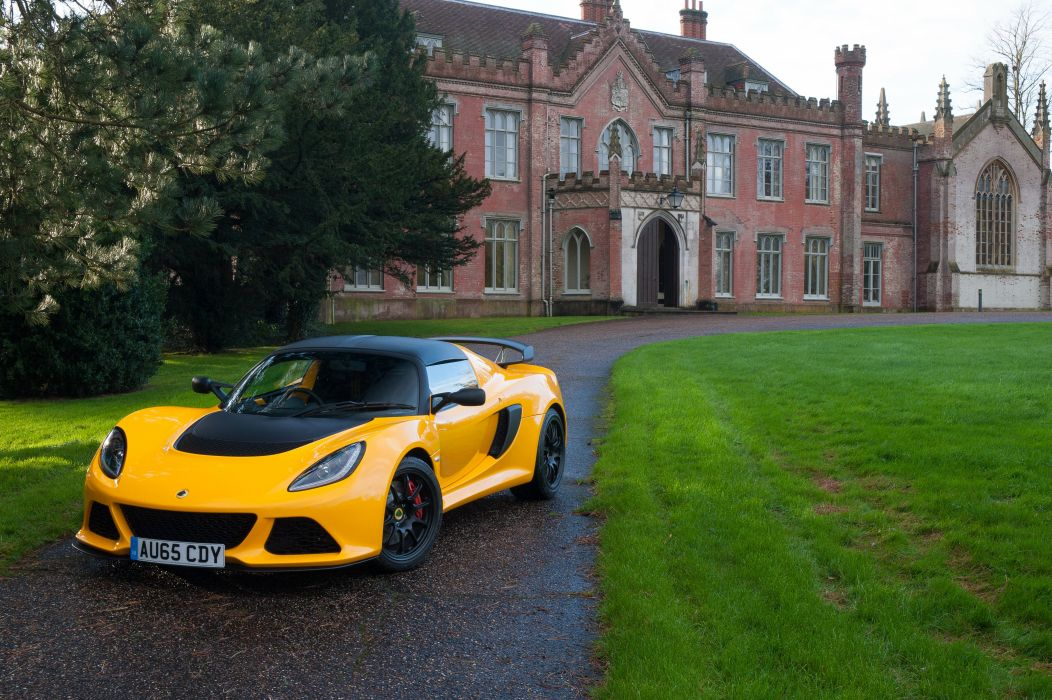 2016 Lotus Exige Sport 350 UK-spec supercar wallpaper