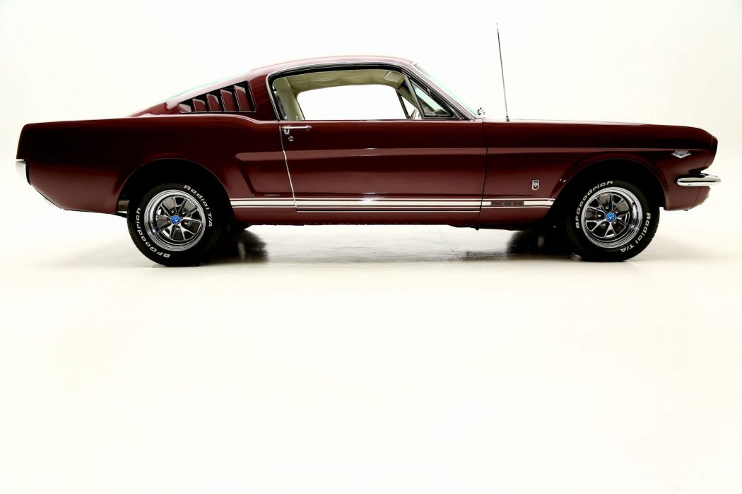 1965 FORD MUSTANG FASTBACK 289 wallpaper