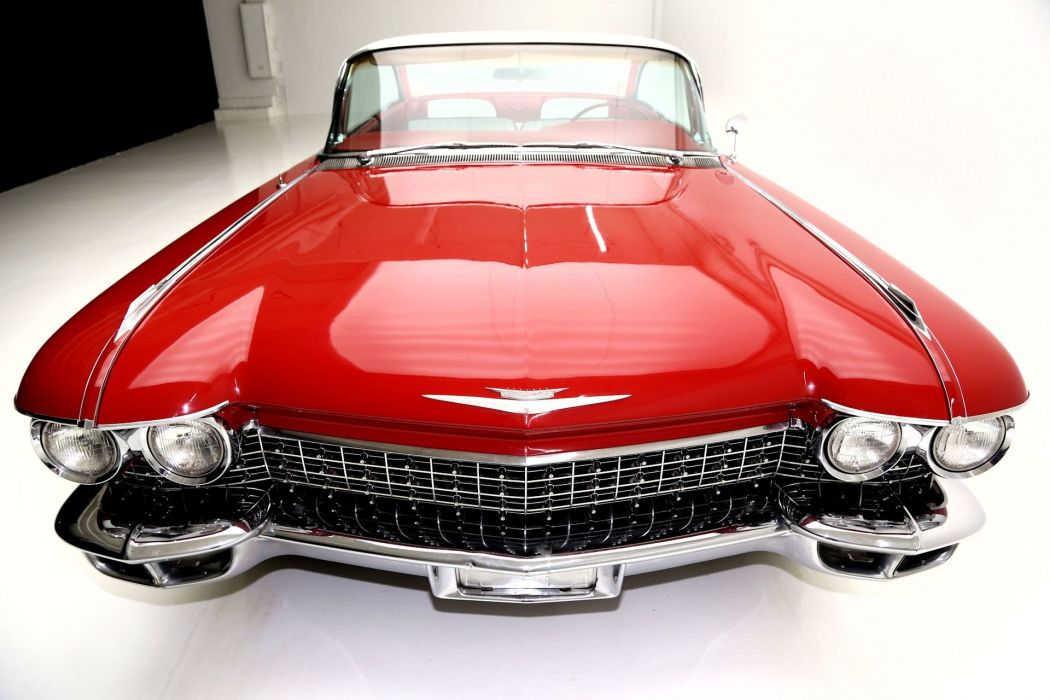 1960 Cadillac Series-62 coupe 390 classic luxury wallpaper