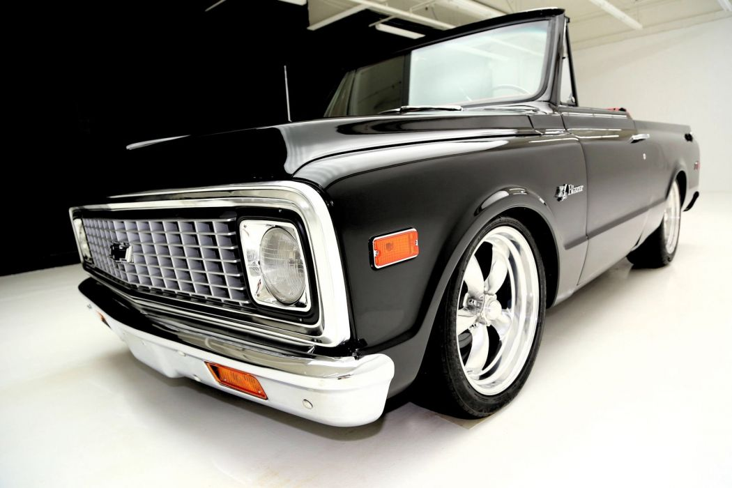1972 CHEVROLET K-5 BLAZER suv hot rod rods custom tuning wallpaper