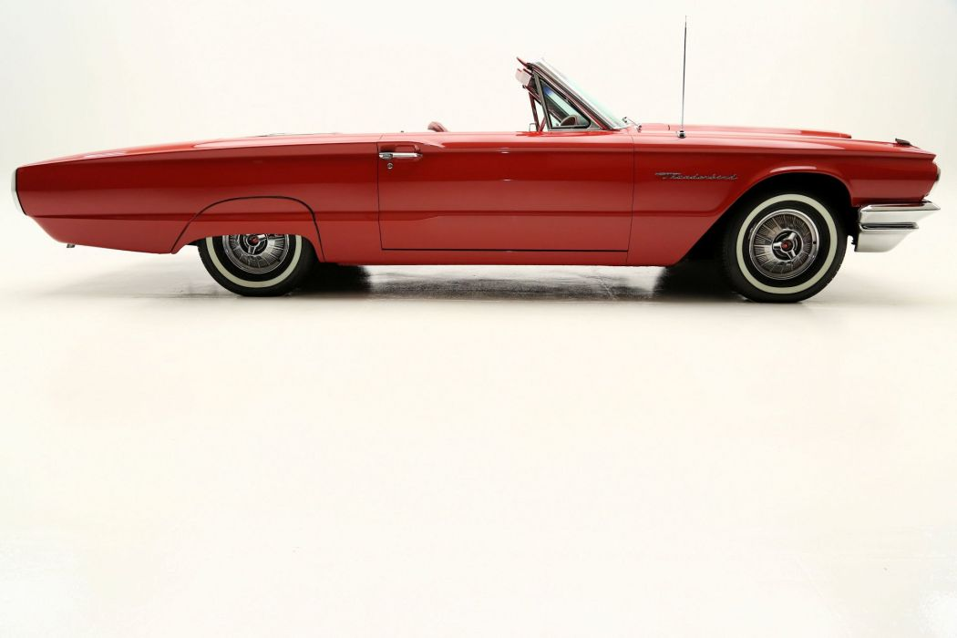 1964 FORD THUNDERBIRD CONVERTIBLE luxury classic wallpaper