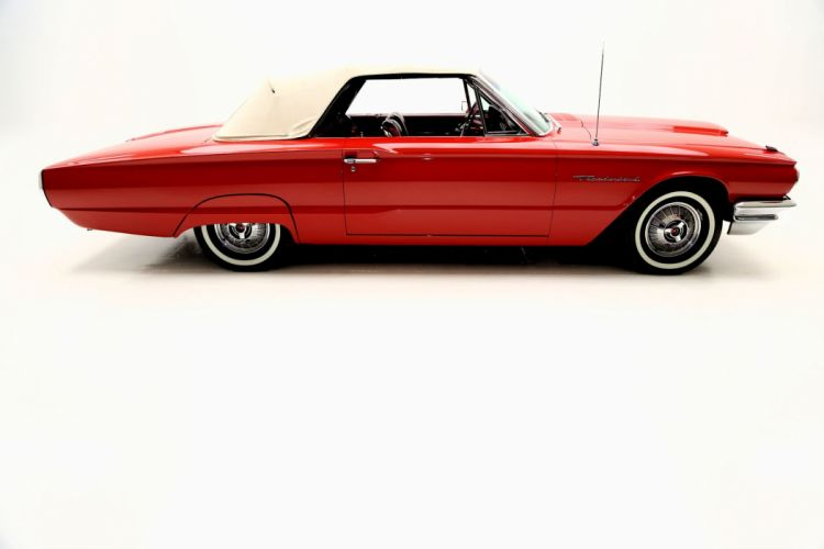 1964 FORD THUNDERBIRD CONVERTIBLE luxury classic wallpaper
