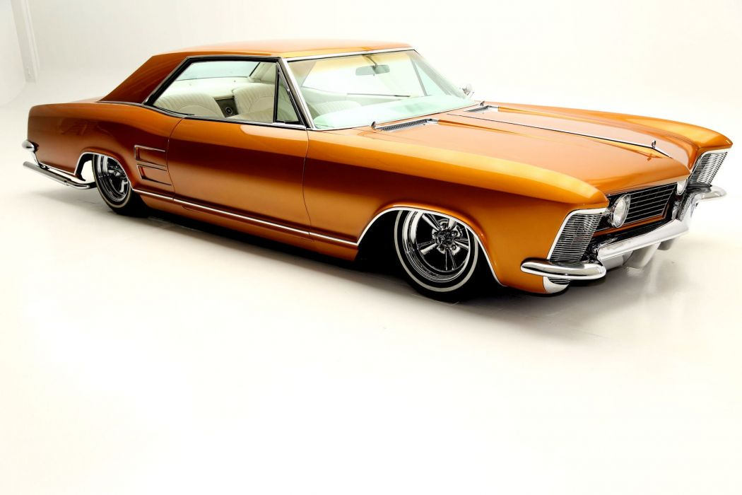 1964 BUICK RIVIERA lowrider custom hot rod rods classic luxury wallpaper