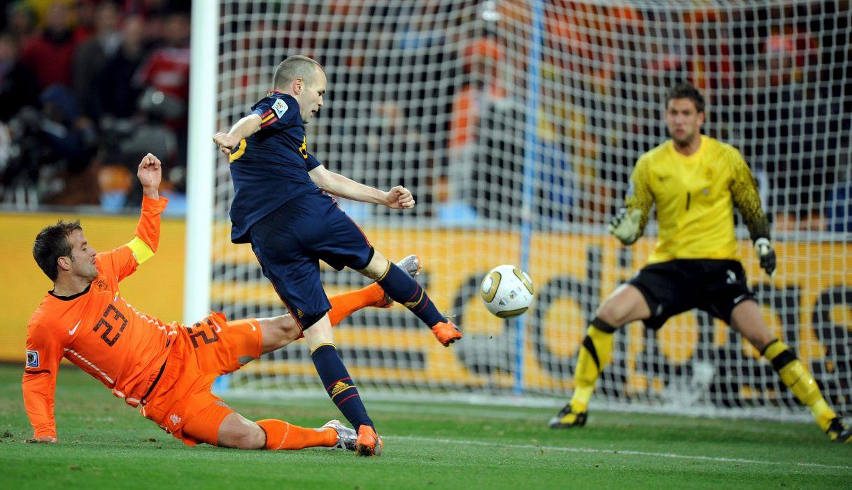 gol inesta final mundial 2010 espaA wallpaper