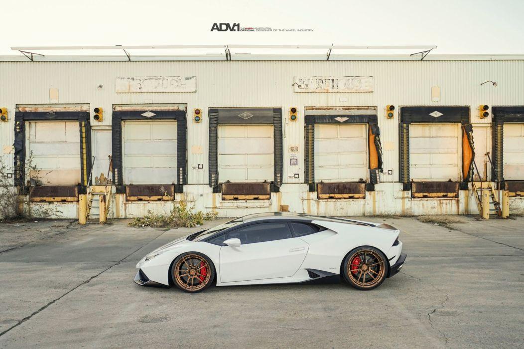 Lamborghini Huracan LP610 adv1 wheels cars white wallpaper