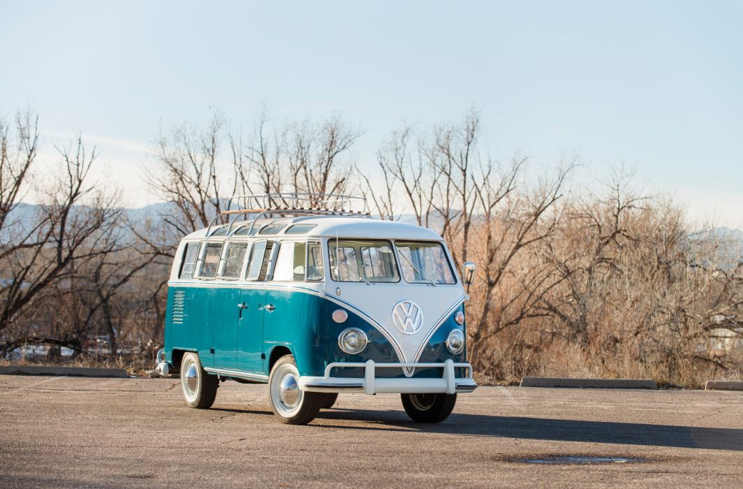 1967 Volkswagen Transporter 4-door DeLuxe Wagon US-spec 2512 van classic wallpaper