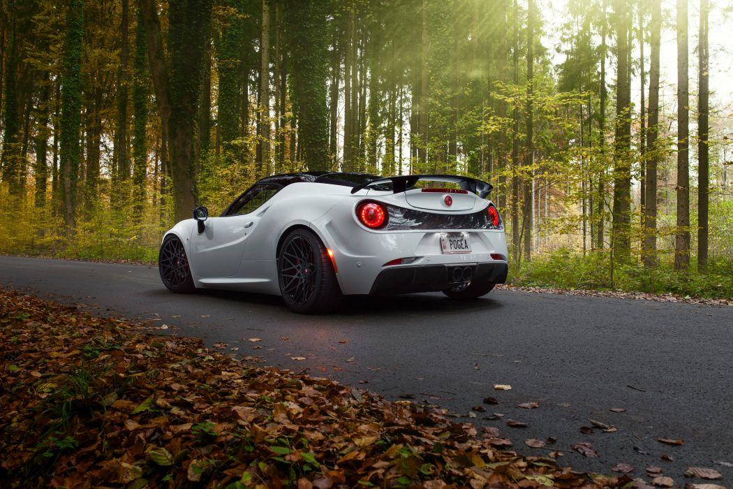 2015 Pogea Racing 4-C Centurion 1plus 960 supercar alfa romeo wallpaper