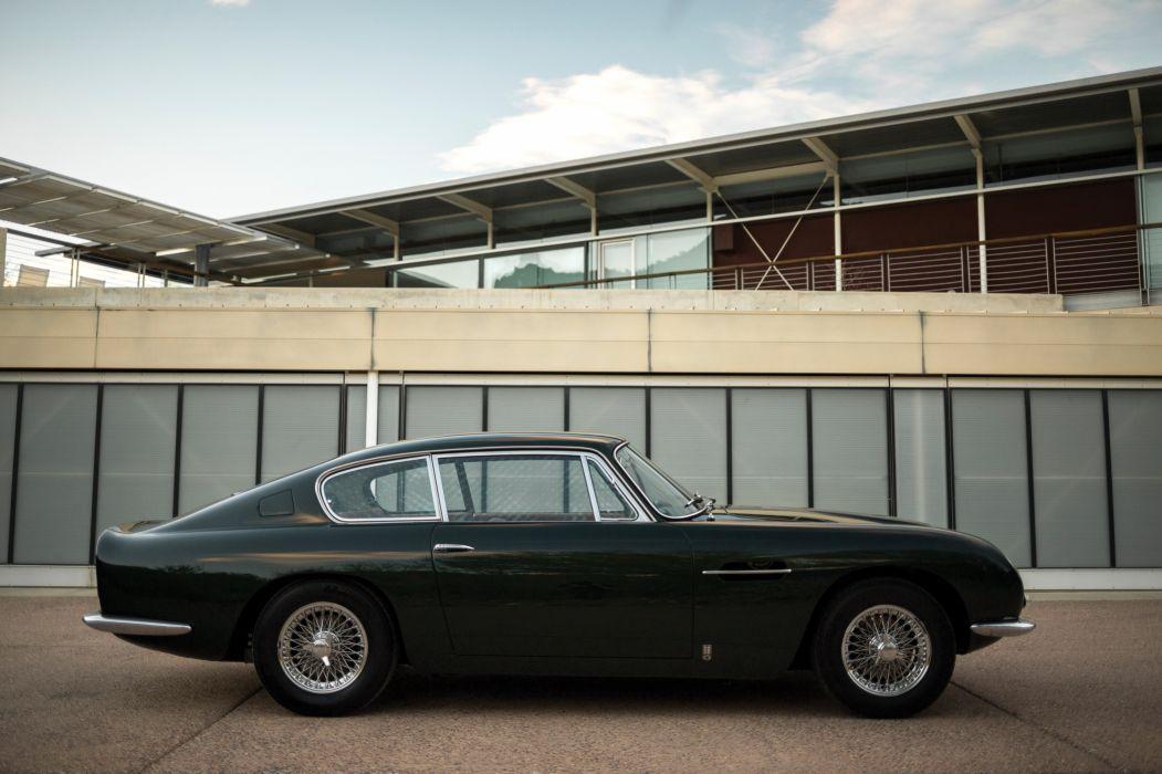 1965 Aston Martin DB6 classic wallpaper