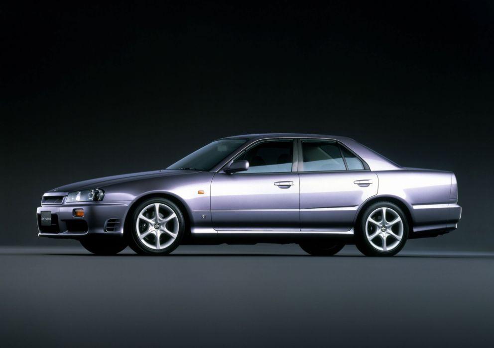 1998 Nissan Skyline 25GT-X Turbo R34 g-t wallpaper