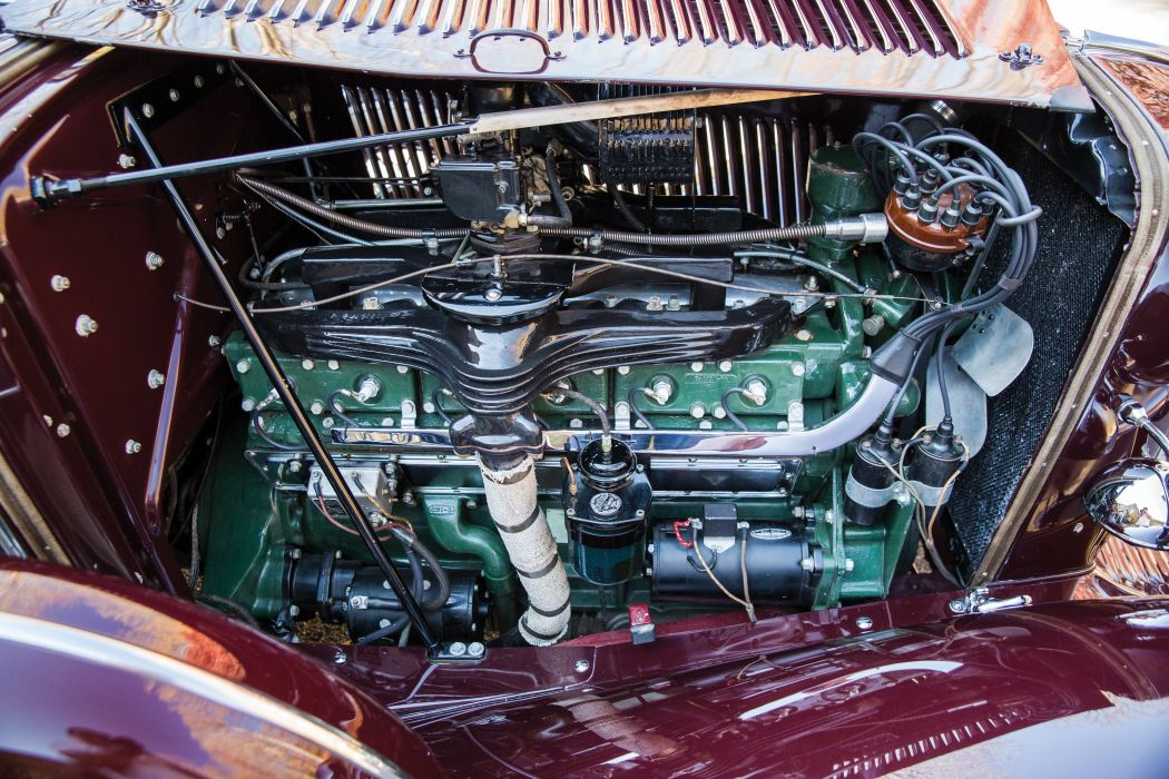 1934 Auburn V12 1250 Salon Dual Ratio Boattail Speedster retro vintage luxury wallpaper