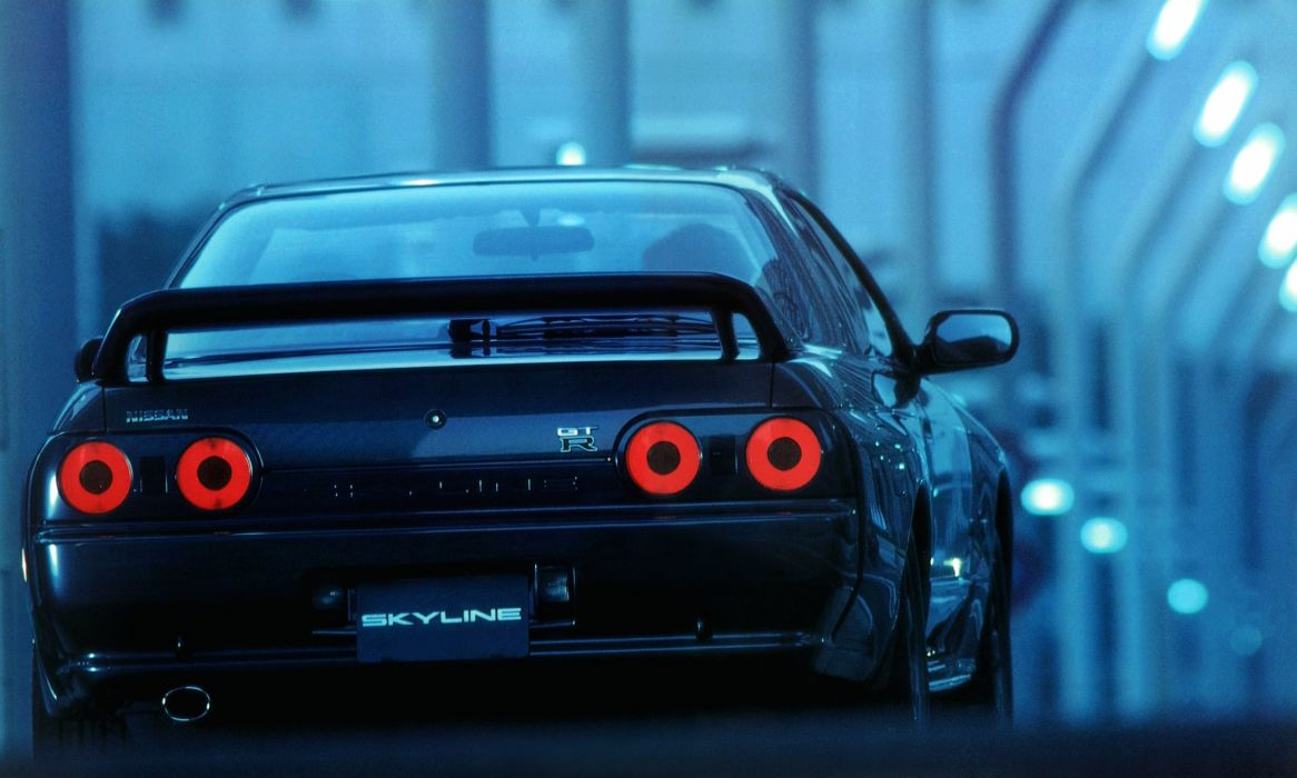 1989-94 Nissan Skyline GT-R BNR32 gtr wallpaper