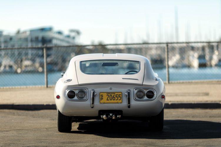 1970 Toyota 2000GT JP-spec MF10 supercar classic wallpaper