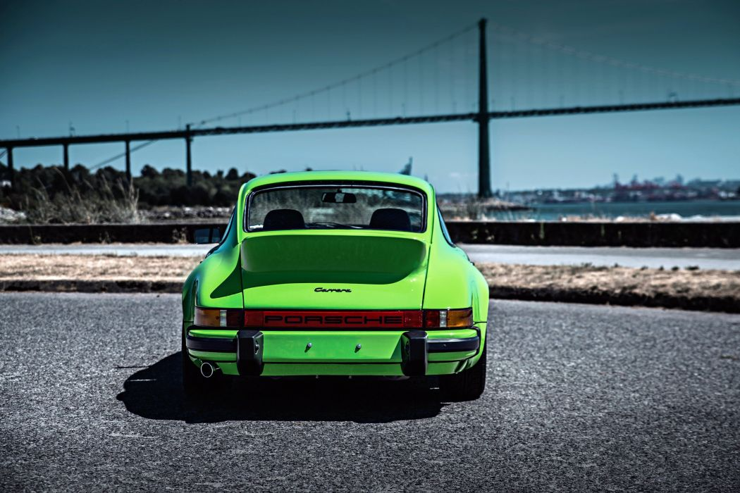 1975 Porsche 911 Carrera 2-7 Coupe ducktail classic supercar wallpaper