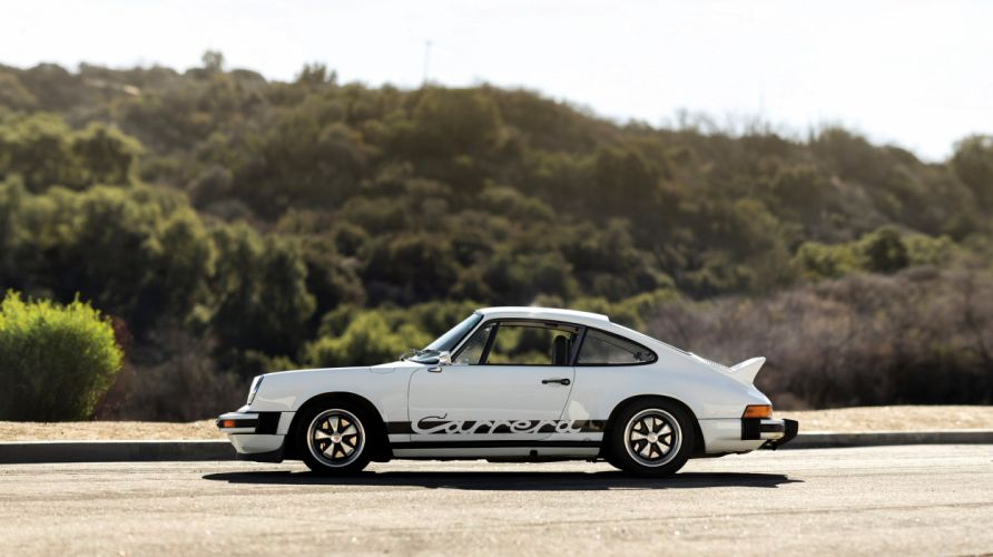 1975 Porsche 911 Carrera 2-7 Coupe ducktail classic supercar wallpaper