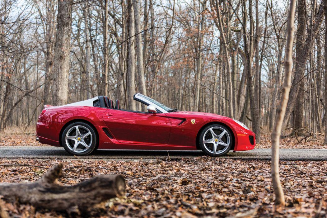 2010 Ferrari S-A Aperta US-spec Pininfarina supercar wallpaper