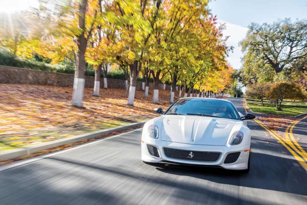 2011 Ferrari 599 GTO US-spec Pininfarina supercar wallpaper