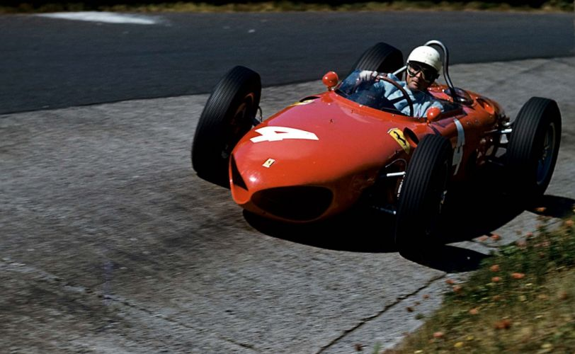 1962 Ferrari 156 F-1 formula race racing retro wallpaper