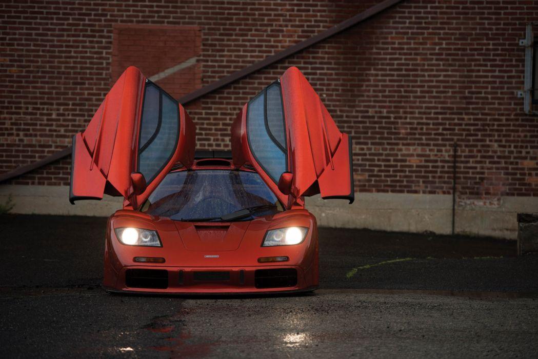 1994-98 McLaren F-1 supercar wallpaper