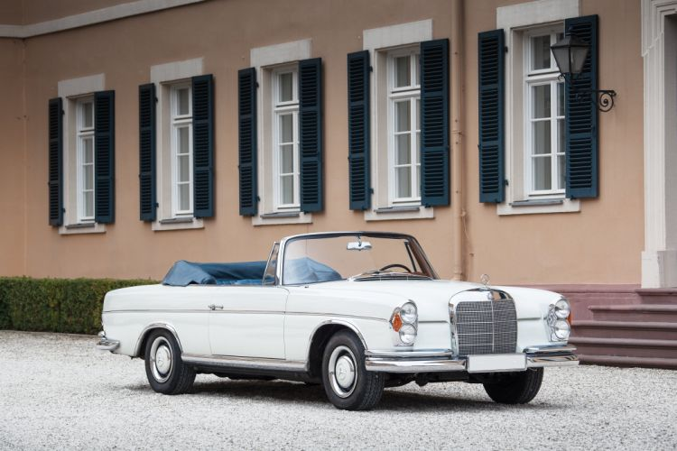 1965 Mercedes Benz 300SE Cabriolet W112 300 convertible luxury classic wallpaper