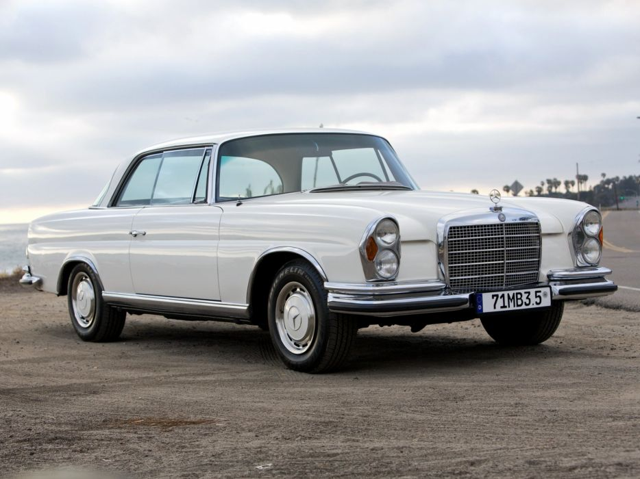 1989 Mercedes Benz 280SE 3-5 Coupe W111 280 classic luxury wallpaper