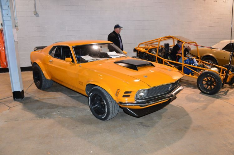1970 Ford Mustang Boss 429 muscle classic hot rod rods wallpaper