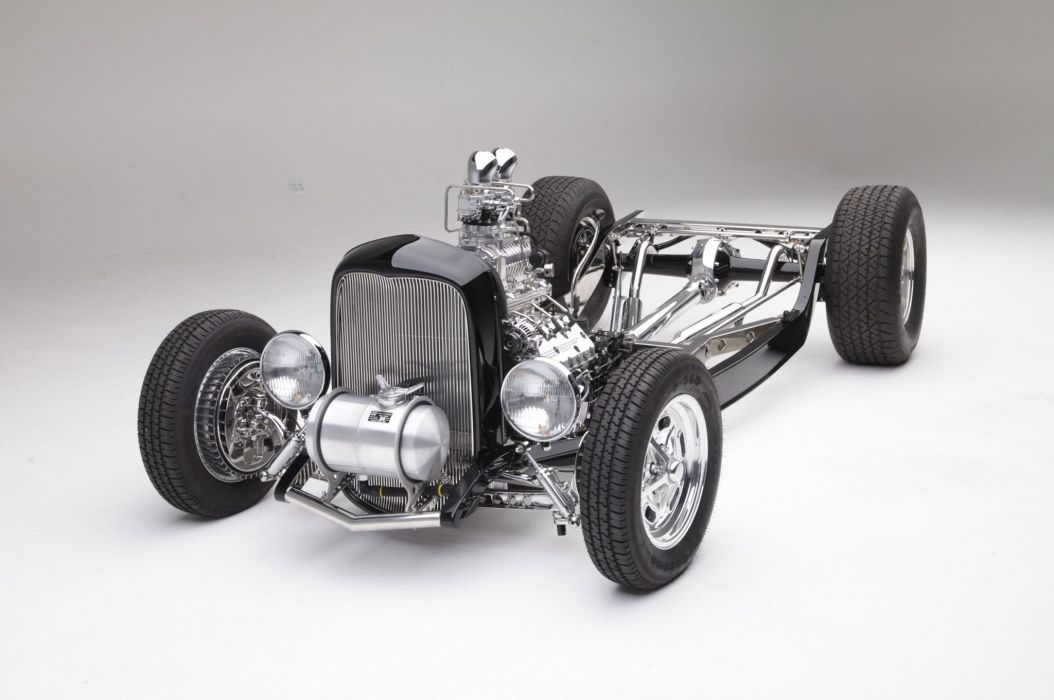 1932 Ford Hot Rod rods retro vintage custom wallpaper