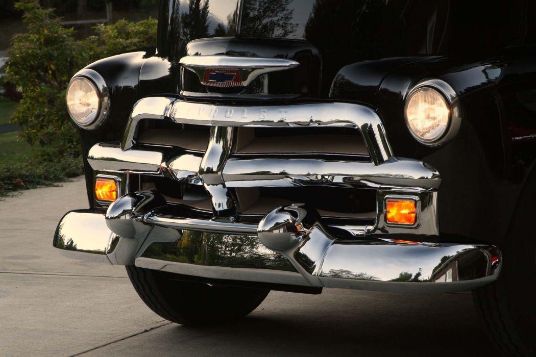 1954 Chevrolet Cab Over motorhome camper custom tuning hot rod rods semi tractor retro wallpaper