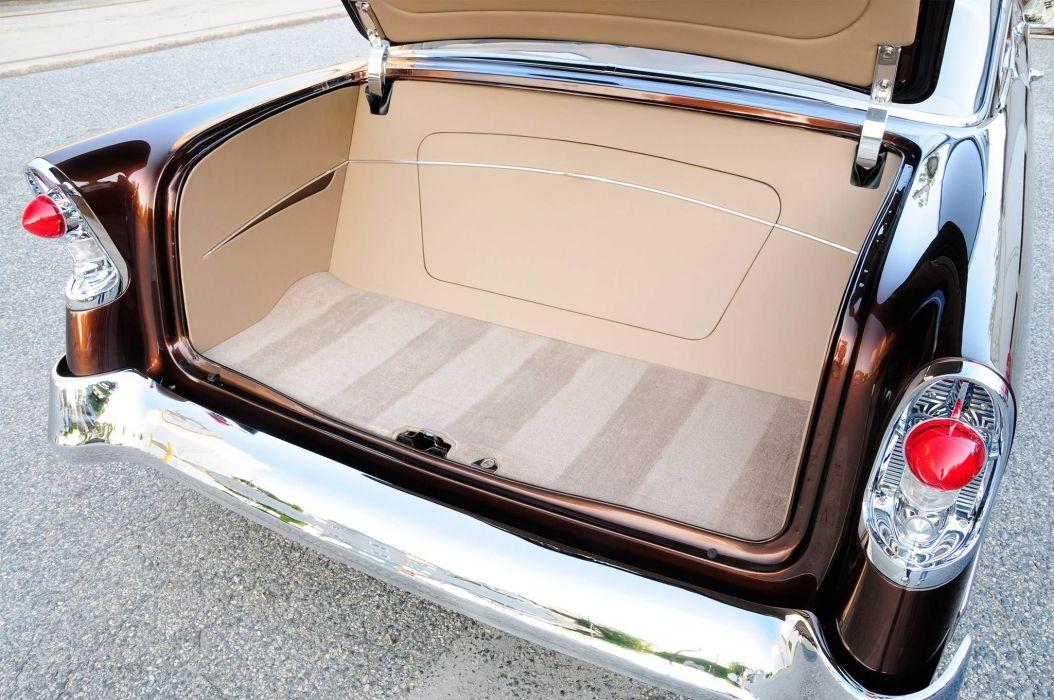 1956 Chevrolet hot rod rods custom retro wallpaper
