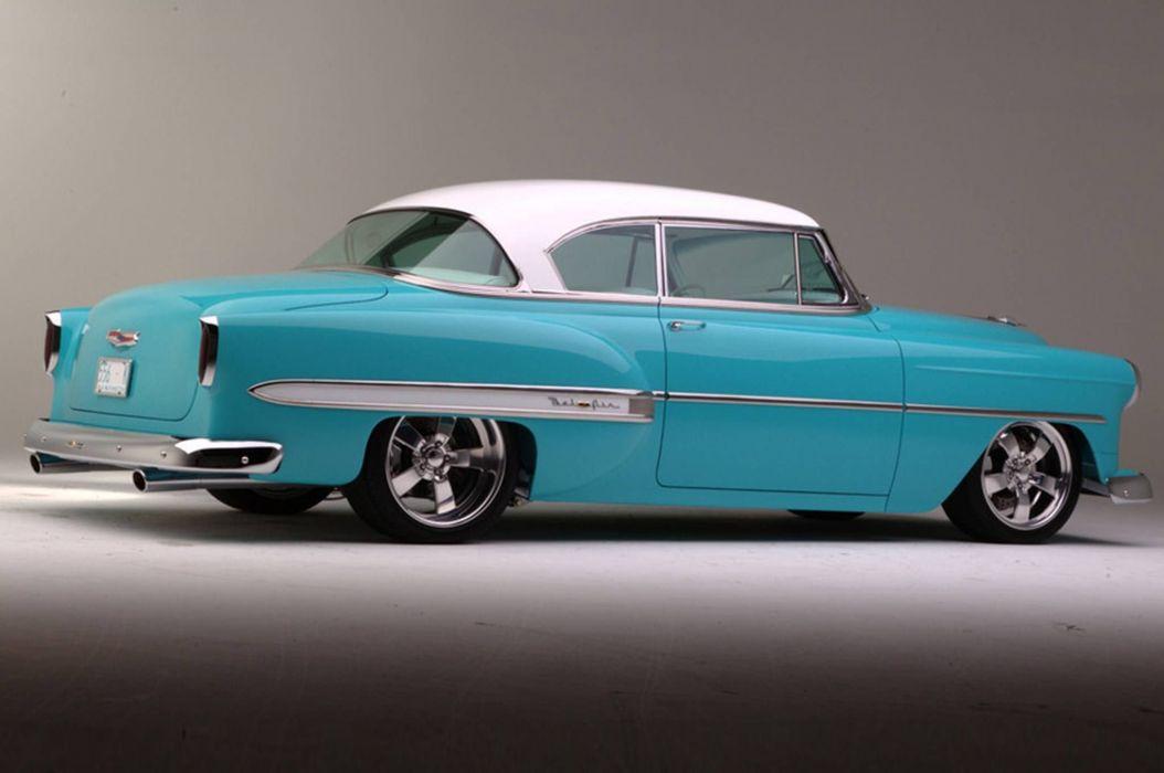 1954 Chevrolet hot rod rods custom retro wallpaper