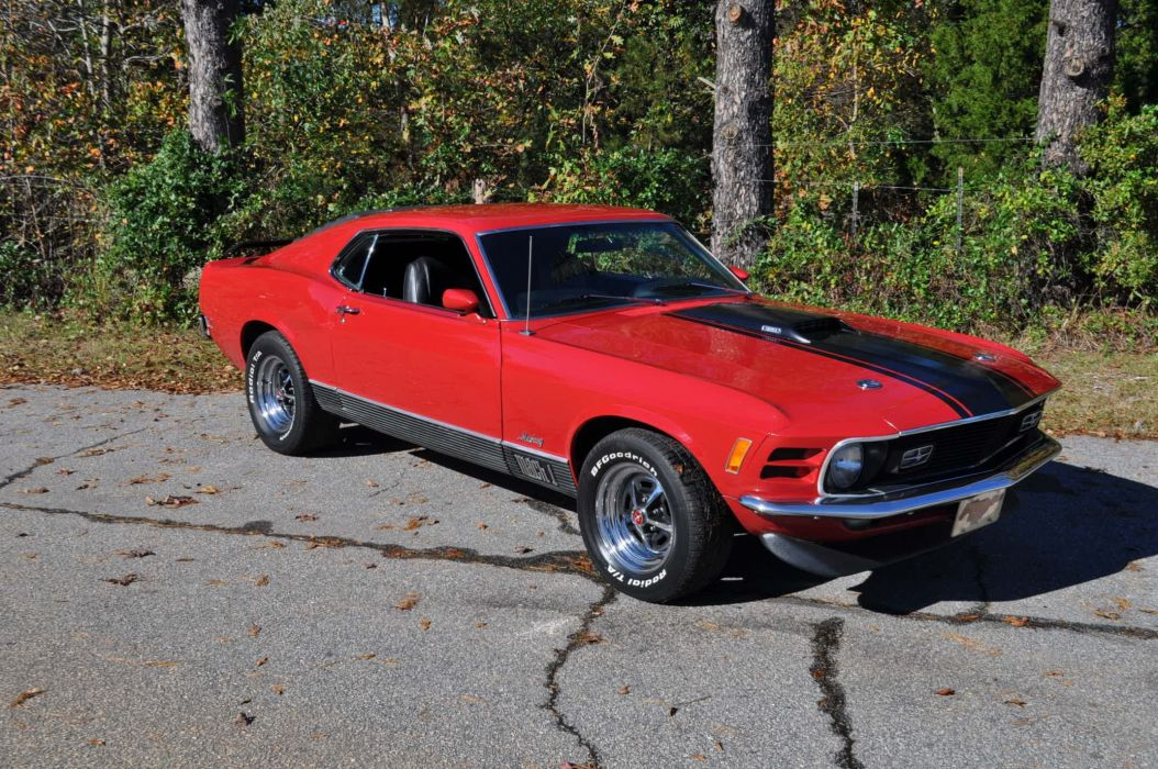 1970 FORD MUSTANG MACH-I muscle classic wallpaper
