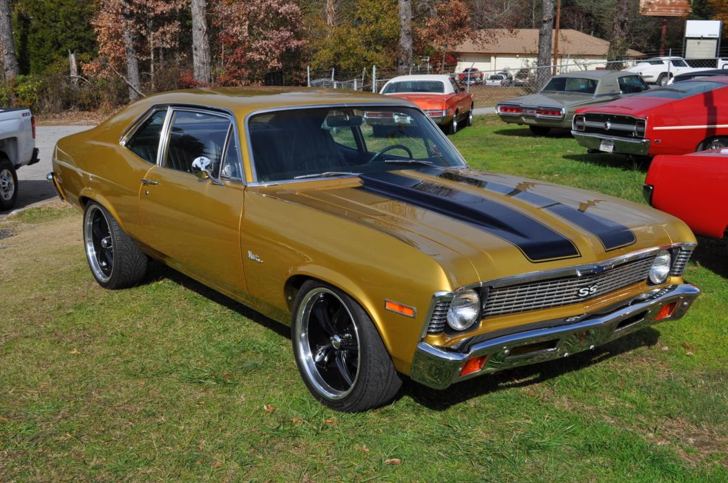 1971 CHEVROLET NOVA muscle classic hot rod rods wallpaper