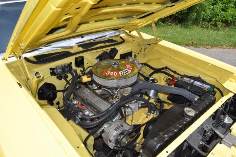1972 DODGE CHALLENGER 340 muscle mopar classic wallpaper