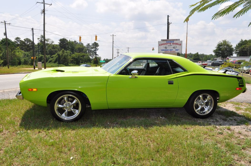 1973 PLYMOUTH CUDA 340 muscle classic barracuda wallpaper
