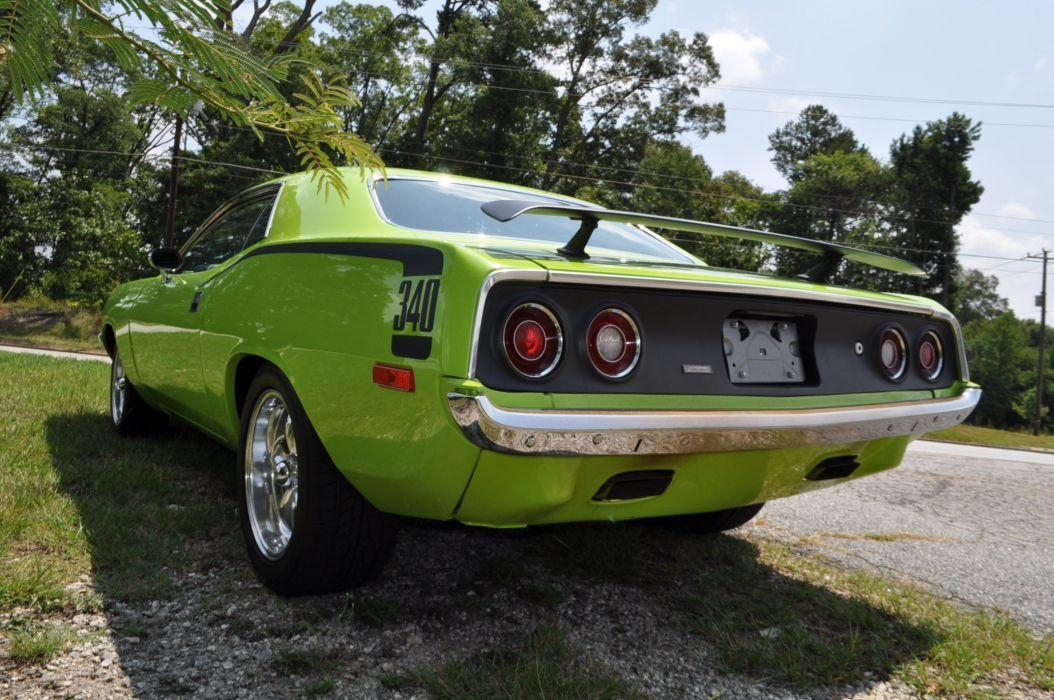 1973 PLYMOUTH CUDA 340 muscle classic barracuda wallpaper
