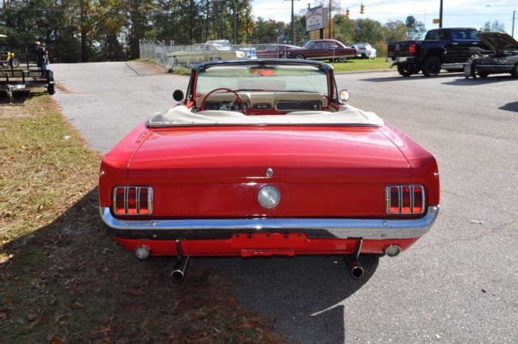 1966 FORD MUSTANG CONVERTIBLE muscle classic wallpaper
