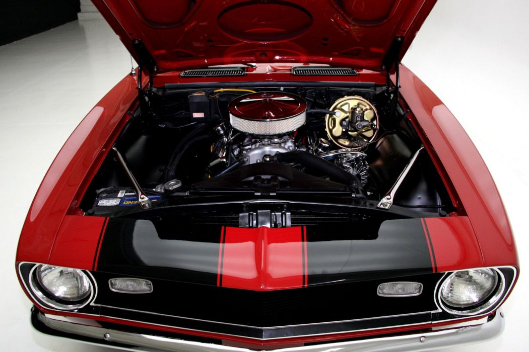 1968 CHEVROLET CAMARO CONVERTIBLE muscle classic 350ci wallpaper