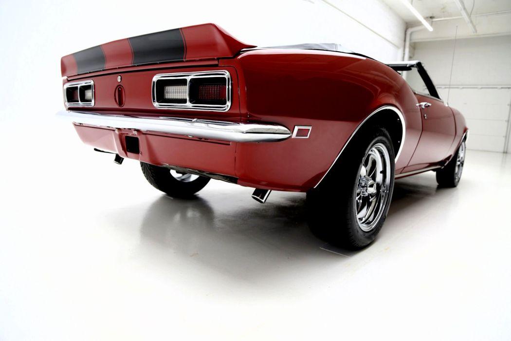 1968 CHEVROLET CAMARO CONVERTIBLE muscle classic 350ci wallpaper