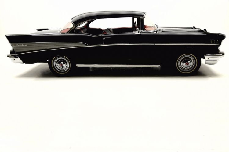 1957 CHEVROLET BEL AIR 283ci retro muscle belair wallpaper