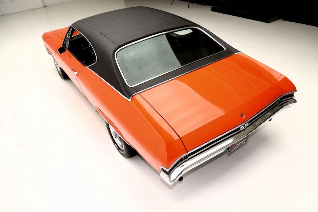1968 CHEVROLET CHEVELLE S-S 396ci muscle classic wallpaper