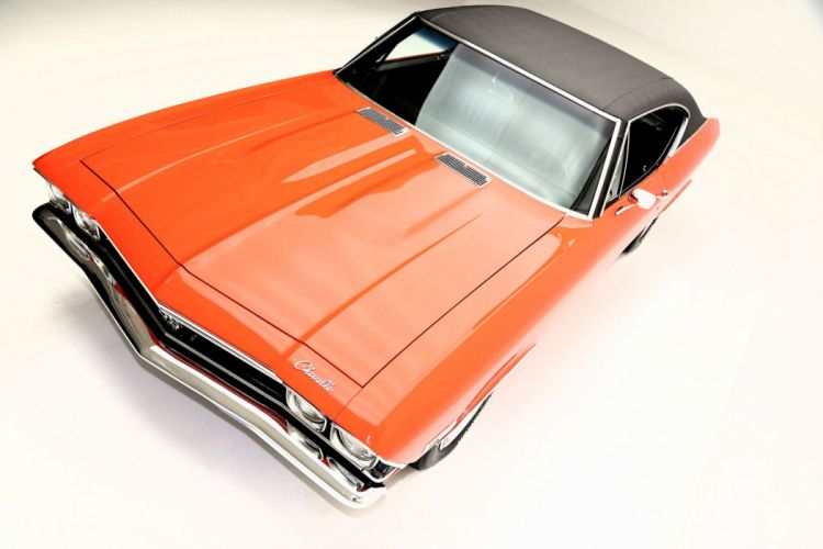 1968 CHEVROLET CHEVELLE S-S 396ci muscle classic wallpaper