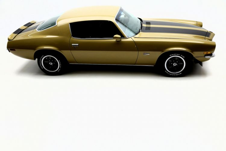 1971 CHEVROLET CAMARO Z28 454ci muscle classic wallpaper
