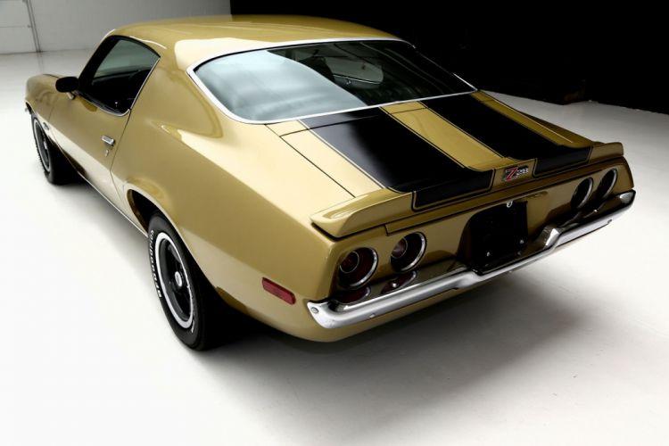 1971 CHEVROLET CAMARO Z28 454ci muscle classic wallpaper