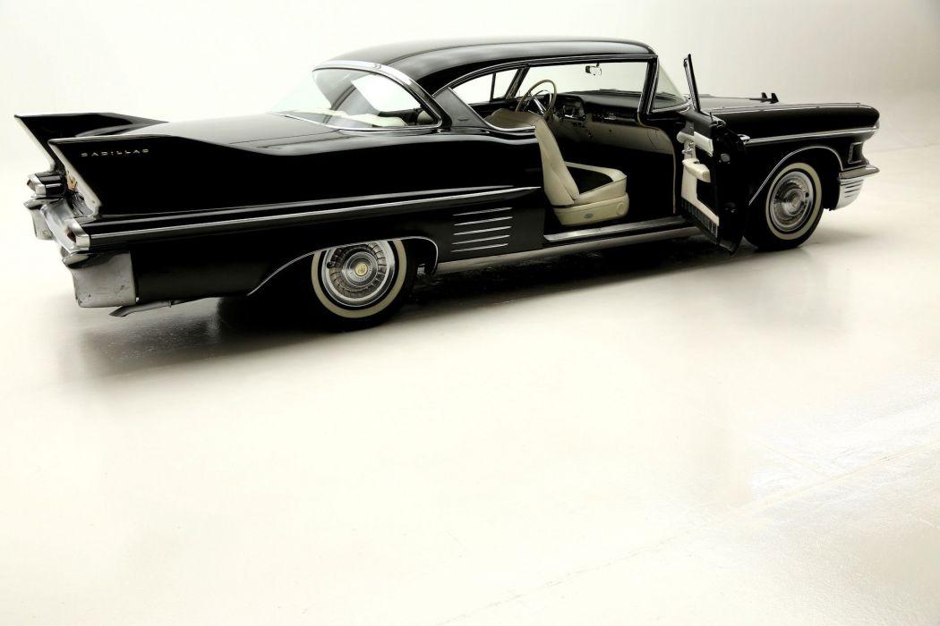 1958 CADILLAC SERIES-62 DEVILLE luxury retro ville 331ci wallpaper